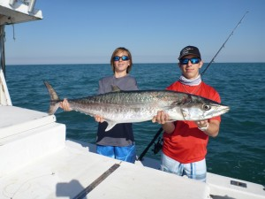 King Mackerel aka kingfish in Port Canaveral & Cocoa Beach, FL