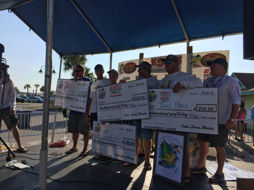 Saltwater Classic Tournament amberjacks port canaveral & Cocoa Beach, FL