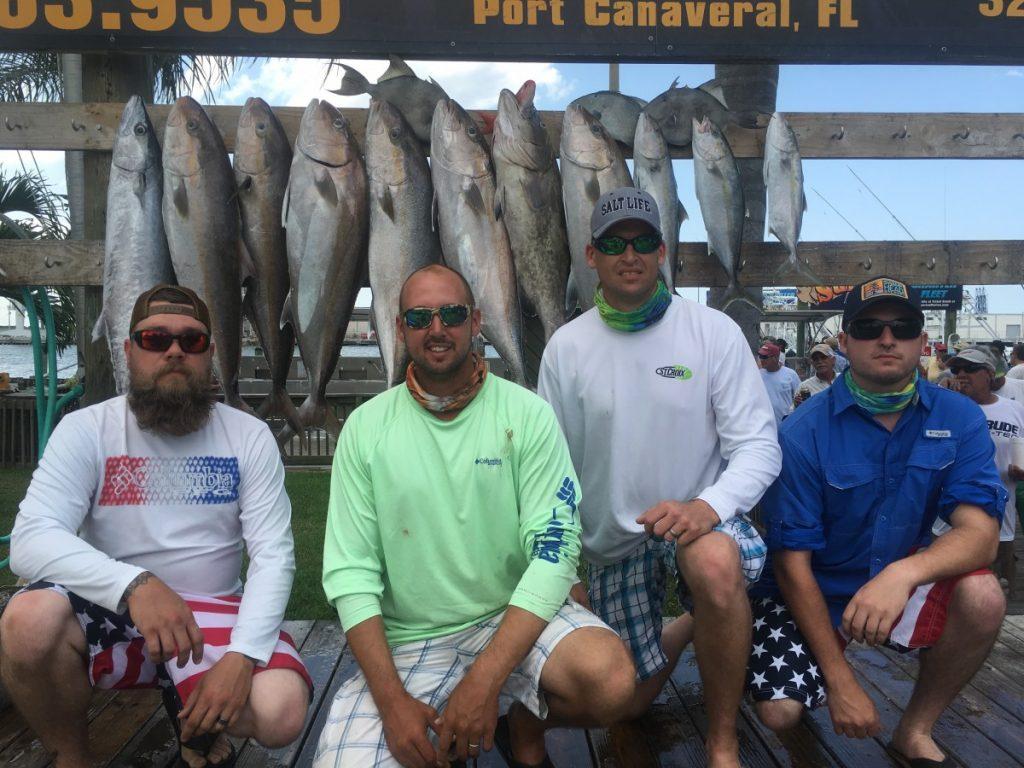 sunrise marina fishrelentless charters Cocoa Beach & Port Canaveral, FL