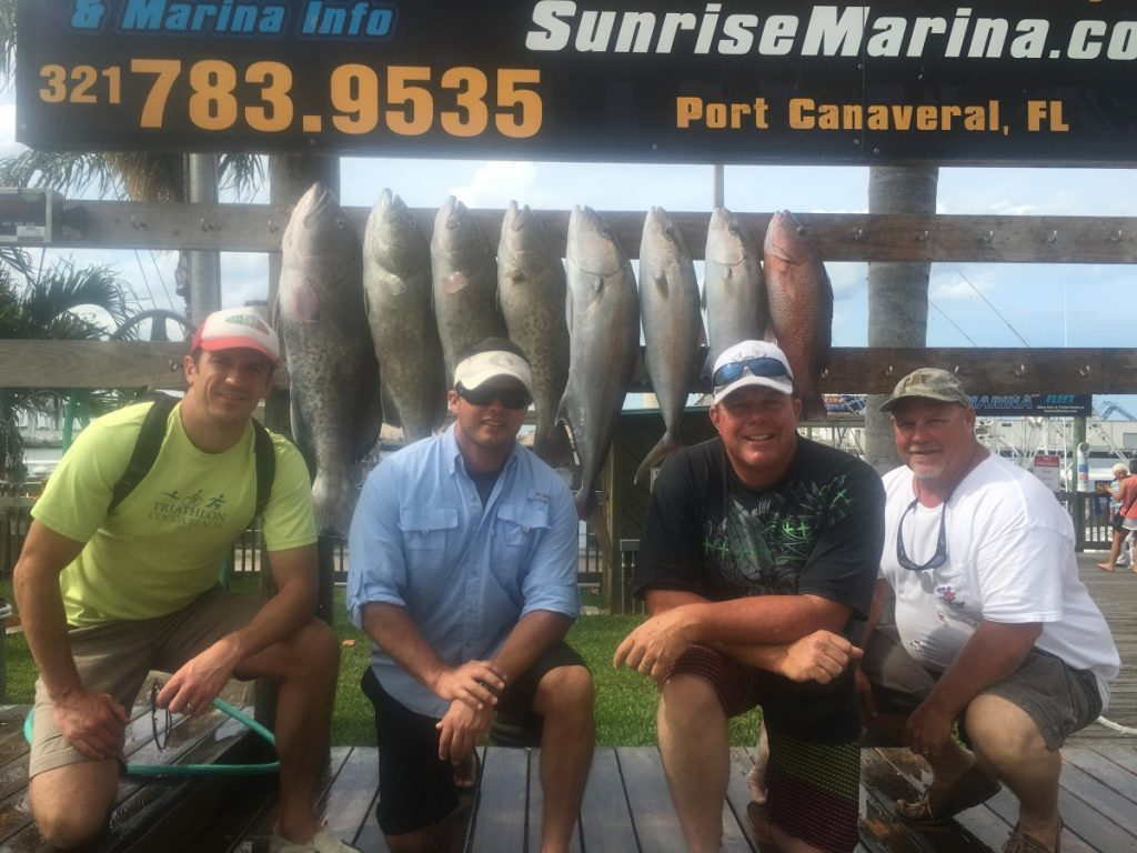 sunrise marina port canaveral charter fishing